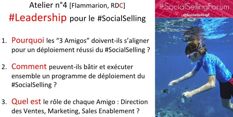 Social Selling Forum : Jamie Shanks 3 amigos