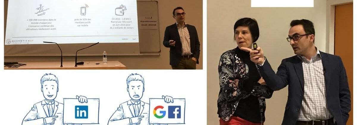 Conférence Comment bien utiliser LinkedIn