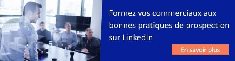 Formez vos commerciaux à prospecter sur LinkedIn