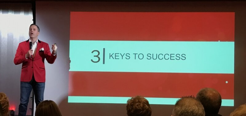 Social Selling Forum : Jamie Shanks Keys to success