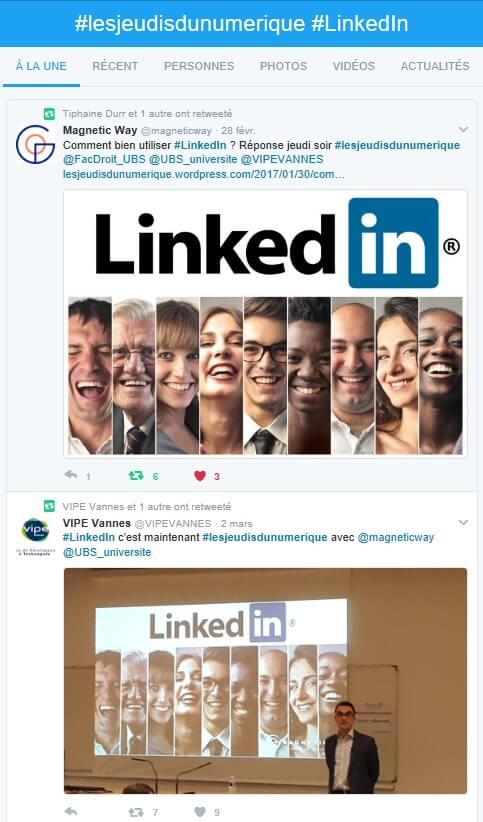 Les Tweets pour bien utiliser LinkedIn