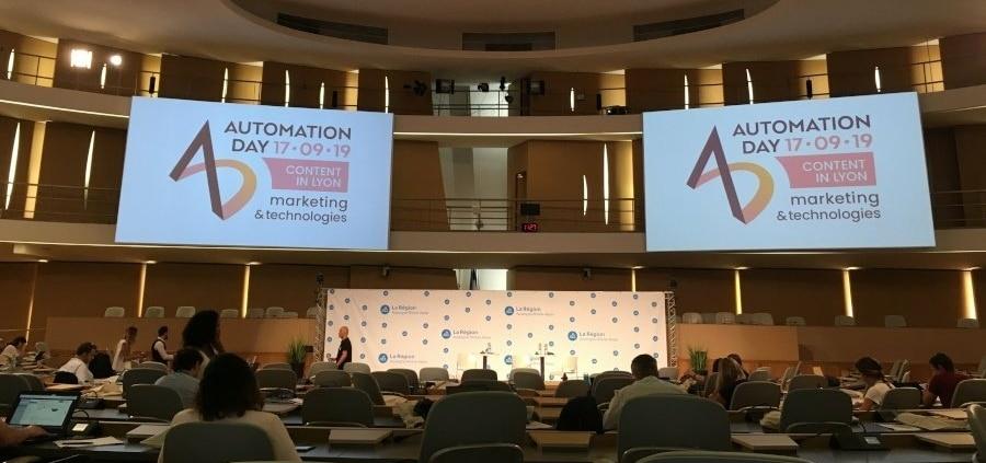 Salle de conférence de l'AutomationDay 2019